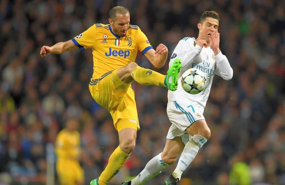 Ronaldo și Chiellini vor deveni coechipieri, după ce au dus lupte grele în ultimele ediții ale Ligii FOTO: Guliver/ Getty Images