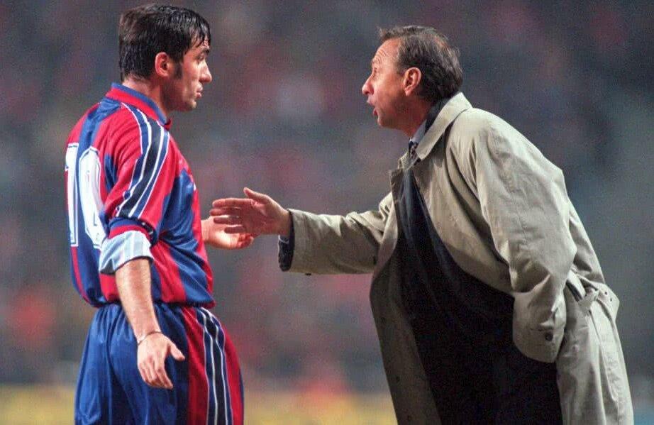 Hagi și Cruyff