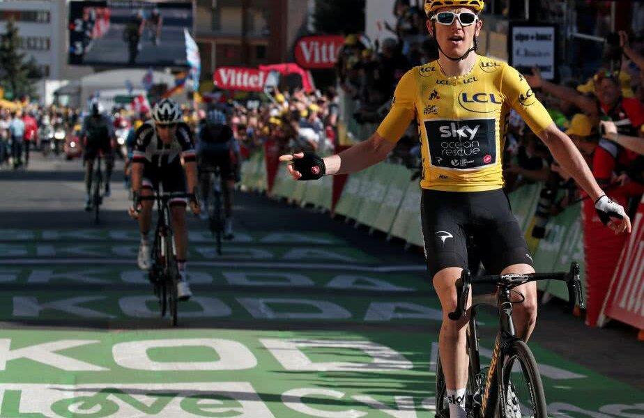Tradițional, una dintre cele 21 de serpentine de pe Alpe D'Huez va primi numele câștigătorului de etapă, foto: reuters