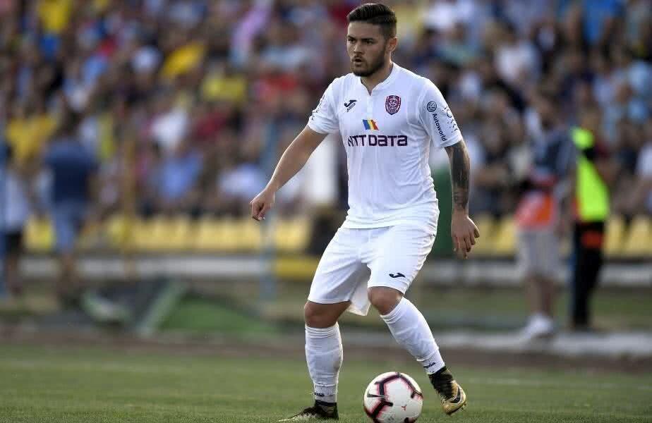 Sâmbătă (28 iulie), contra Dunării Călărași, Ioniță a bifat prima partidă ca titular după aproape 4 luni // FOTO: Raed Krishan