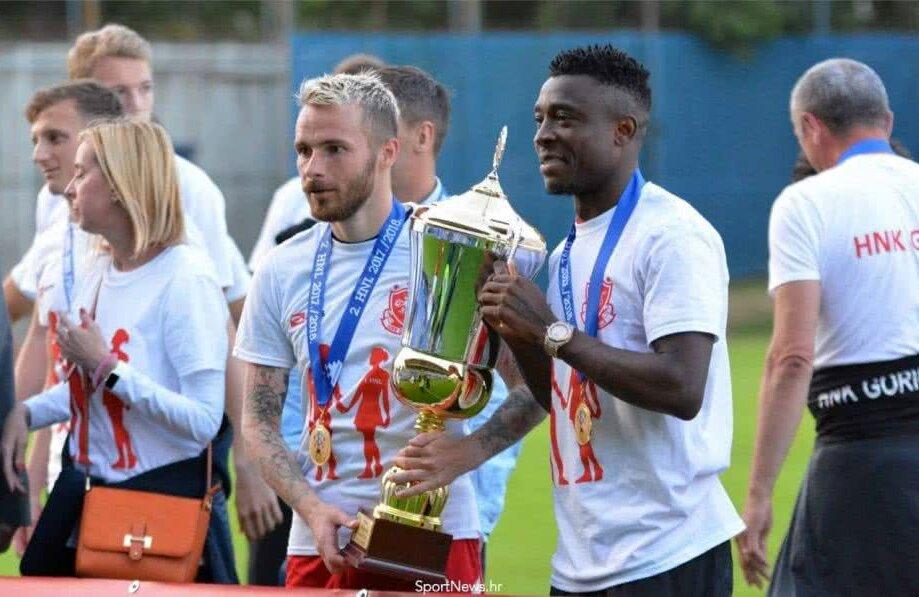 Astafei medaliat pentru câștigarea Ligii secunde din Croația