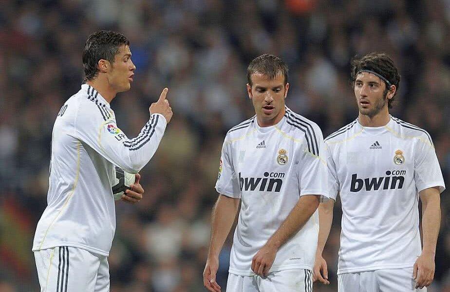 Ronaldo, Van der Vaart și Granero (de la stânga la dreapta) FOTO: Guliver/GettyImages
