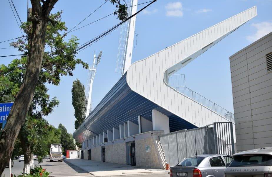 Exterior cu arena din sudul ţării FOTO: Dragoș Sasu (Turnu Măgurele)