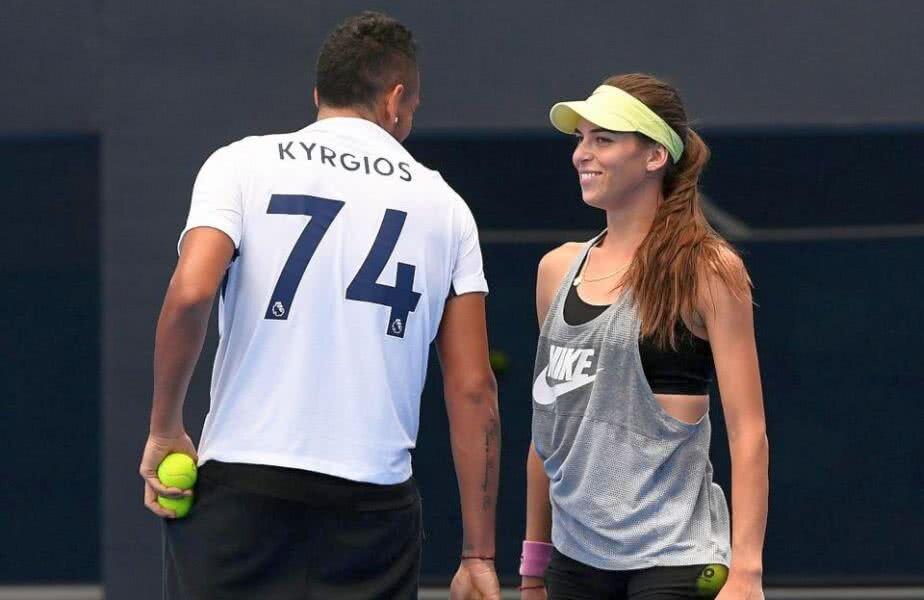 Nick Kyrgios și Ajla Tomljanovic