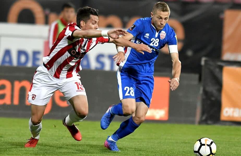 Mihai Roman a fost căpitan la Botoşani în 20 de meciuri pe parcursul anului 2018 FOTO Ionuț Tabultoc