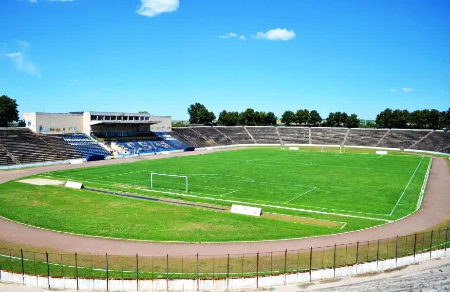 Așa arată în prezent arena din Medgidia FOTO: facebook.com/pg/PrimariaMunicipiuluiMedgidia
