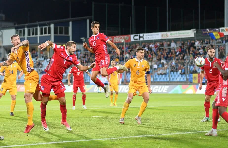 Luxemburg - Moldova 4-0 // Valentin Wagner