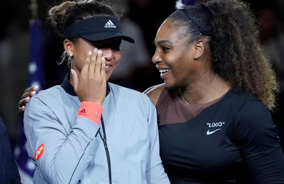 Naomi Osaka alături de Serena Williams // Foto: Reuters