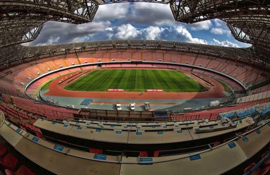 Așa arată acum Stadio San Paolo din Napoli