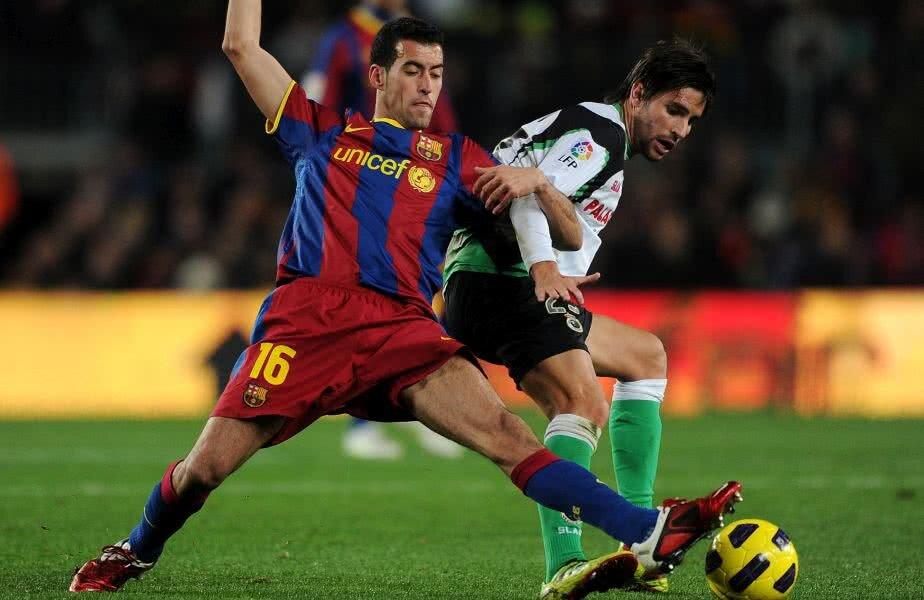 Busquets, la unul dintre primele meciuri jucate pentru Barcelona // FOTO: Guliver/ Getty Images
