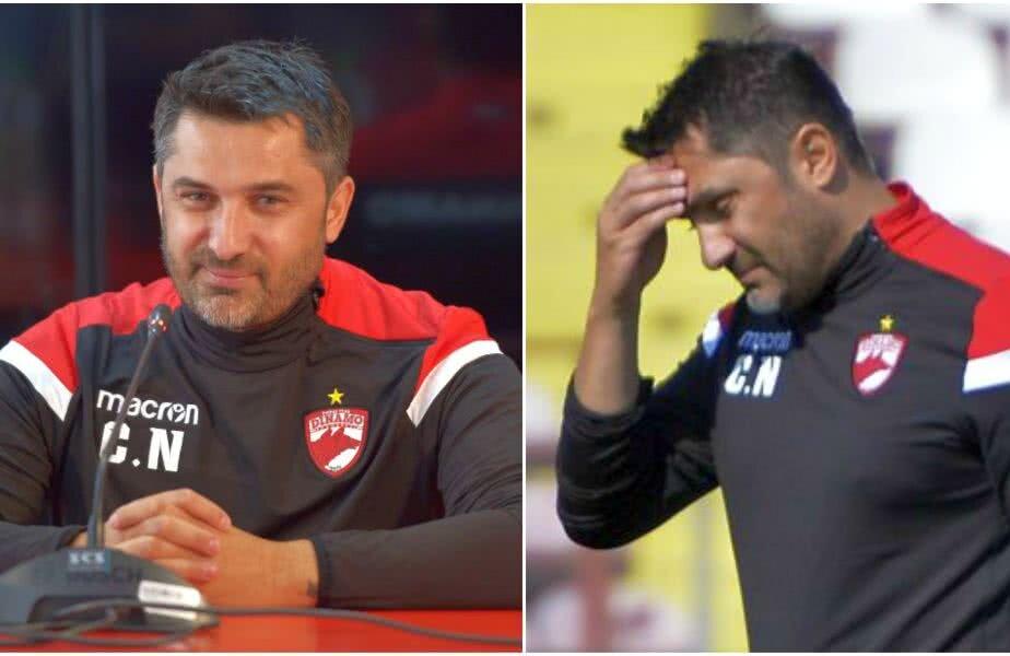 Niculescu a lăsat figura destinsă și relaxată de la conferinţă, pe teren dând faţă în faţă cu realitatea crudă de la echipă FOTO Cristi Preda