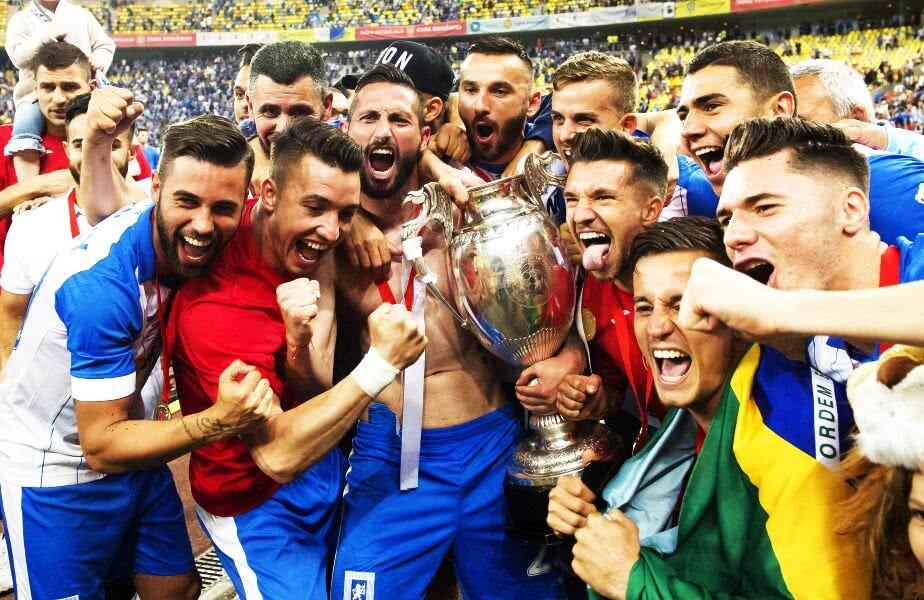 Craiova a câștigat Cupa în sezonul trecut FOTO Cristi Preda