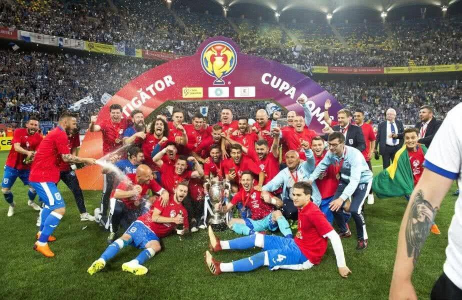CS U Craiova este deținătoarea Cupei României Foto: Cristi Preda