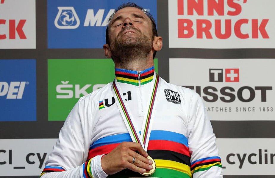 Alejandro Valverde și medalia de aur după care a tânjit încă din 2003, foto: reuters
