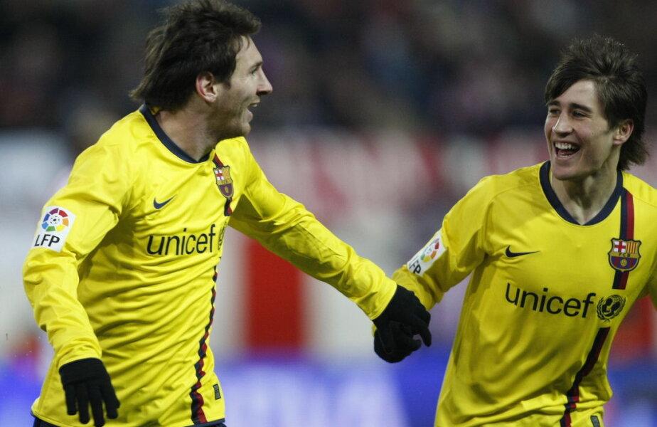 Messi și Bojan au avut traiectorii foarte diferite în lumea fotbalului
