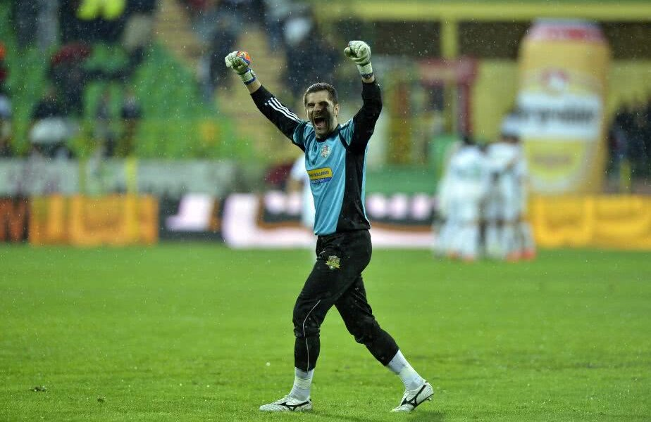 Imagine din meciul la care face referire Dani Coman, FC Vaslui - Steaua 3-1. Foto: Cristi Preda / Gazeta Sporturilor