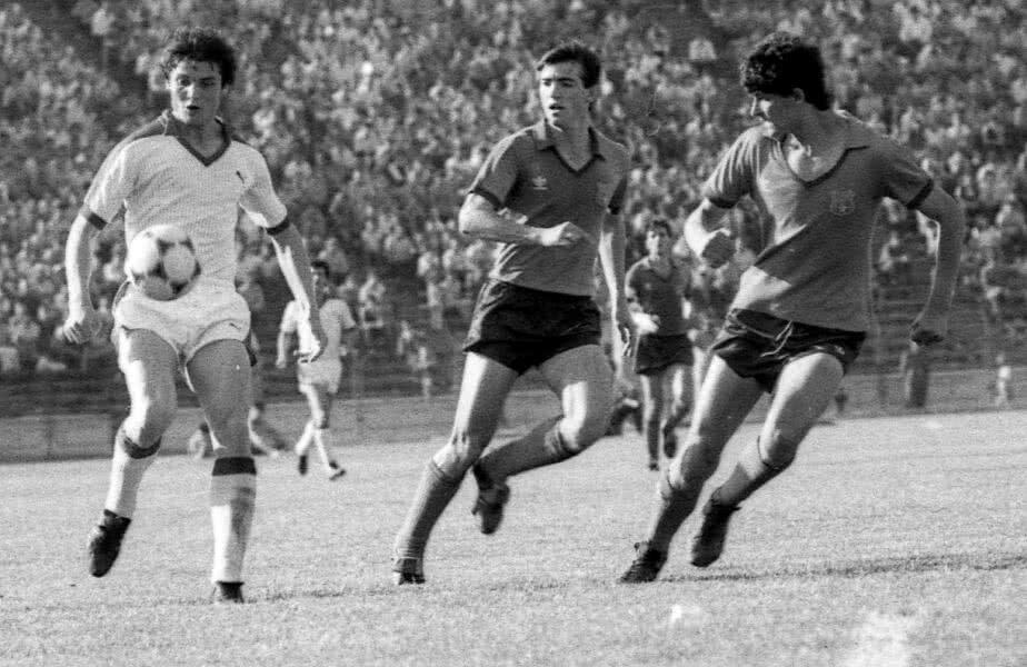 Andone a prins ca jucător cele mai aprinse și mai pline de valoare derbyuri Steaua - Dinamo, cele din a doua jumătate a anilor '80