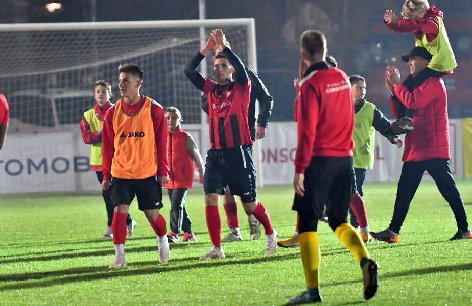 Szilard Magyari a crescut la juniorii Academiei Puskas, sezonul trecut jucând pentru Csakvari, în liga secundă ungară // FOTO: Bogdan Bălaș
