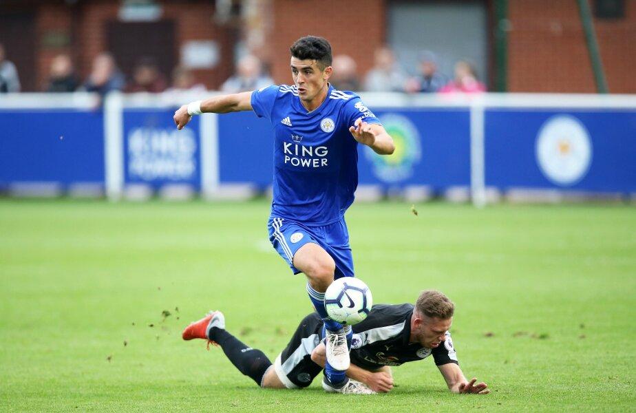 Alex Pașcanu a purtat numărul 50 pentru Leicester, pe care l-ar avea și dacă ar fi convocat la prima echipă FOTO lcfc.com
