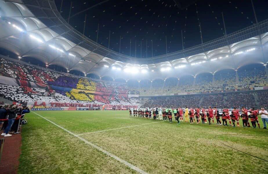 Rkx Optimal Dinamo Fcsb Video Foto Peluza Catalin Hildan Explicat Scenografia Derby  Inceput Intonam