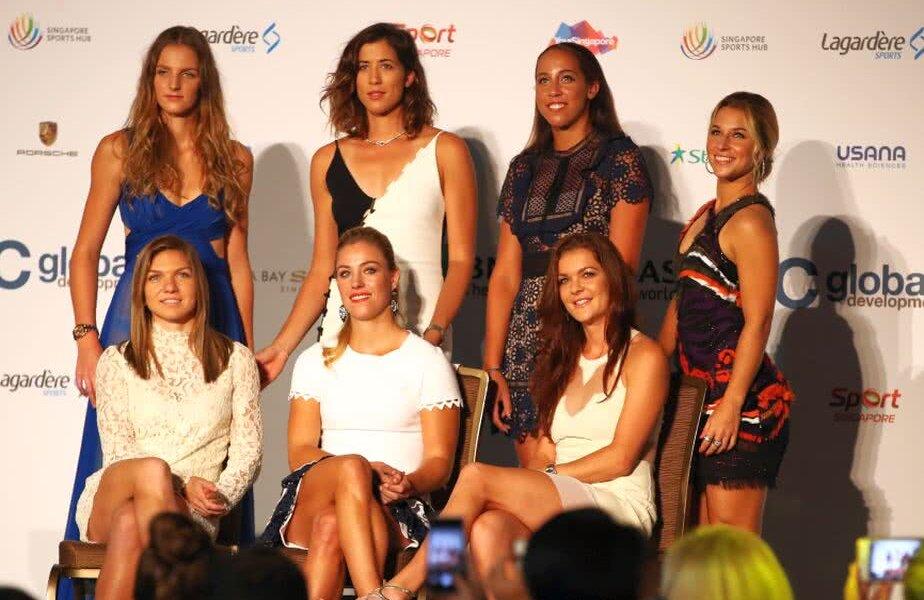 Radwanska, ultima din dreapta, pe rândul de jos // FOTO: Guliver/GettyImages