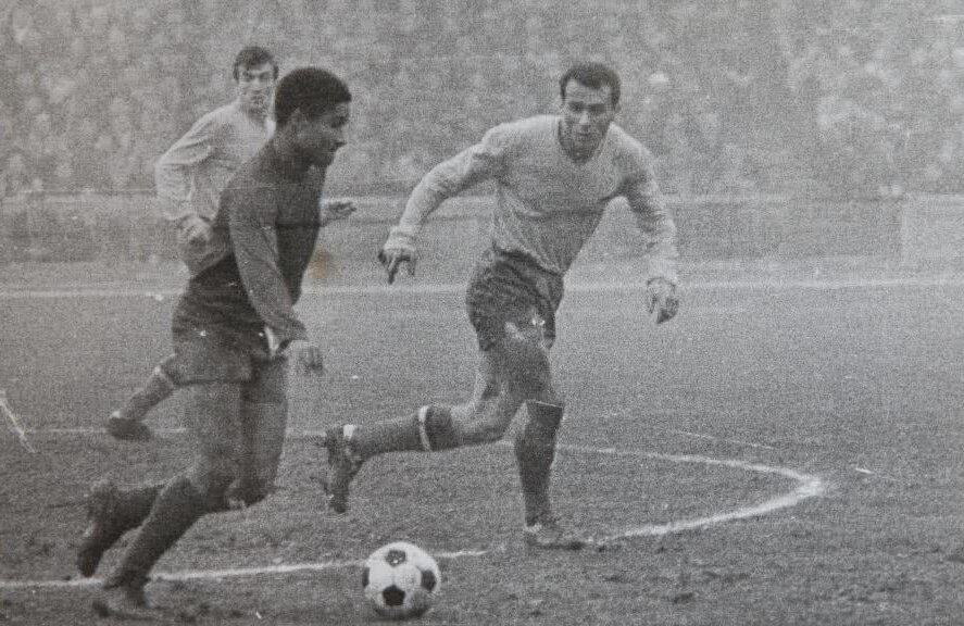 Într-un duel cu marele Eusebio, în meciul România - Portugalia 1-0, din 1969