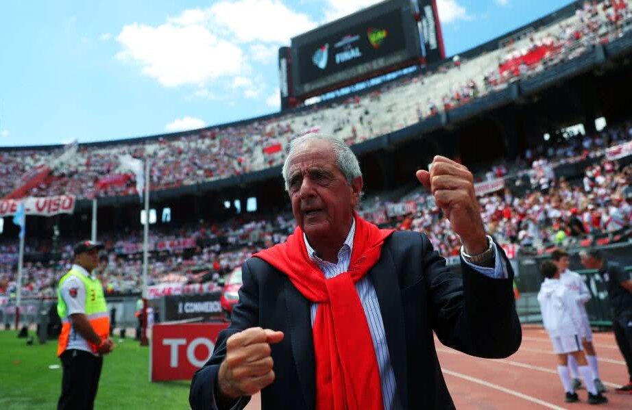 Rodolfo D'Onofrio, președintele lui River // FOTO: Reuters