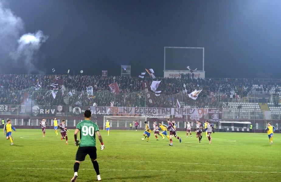 O atmosferă formidabilă la un meci normal de
