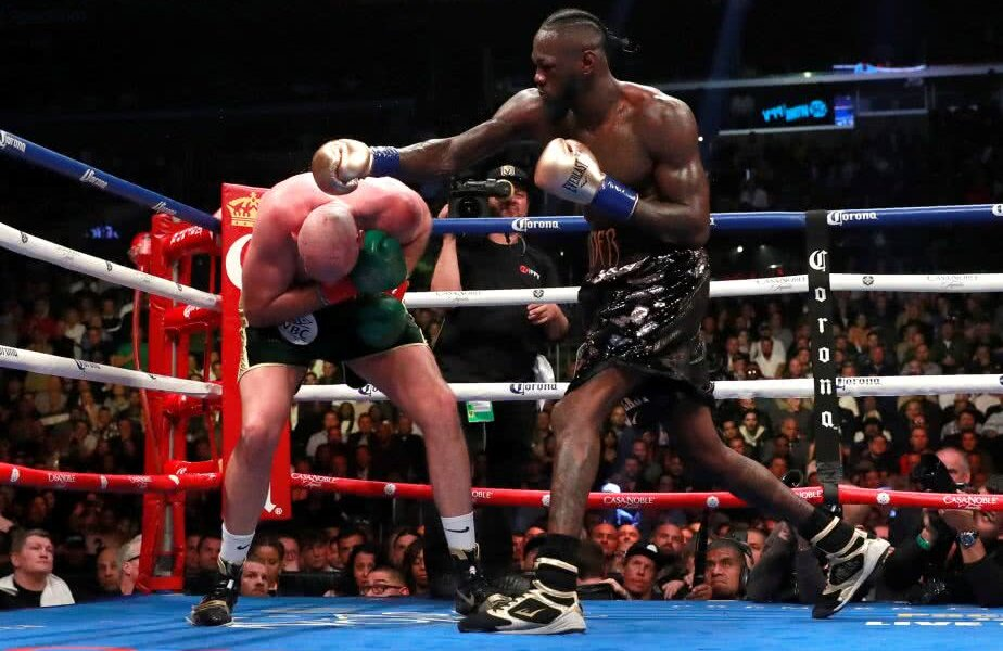 Wilder vs. Fury Foto: Reuters