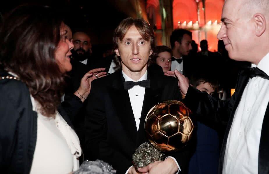 Luka Modrici e primul fotbalist care oprește supremația Ronaldo-Messi // Foto: Reuters