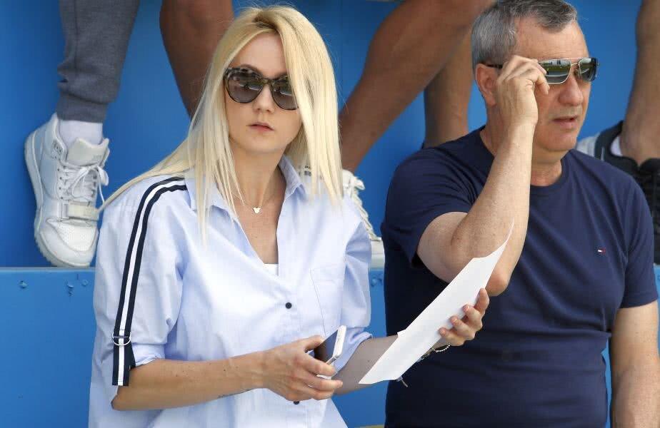 Luana Rednic, alături de tatăl său // FOTO: Gazeta Sporturilor