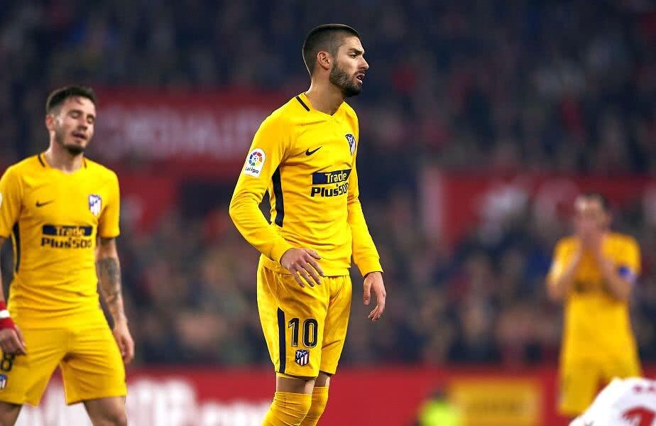 Yannick Carrasco, 25 de ani, fusese achiziționat de Atlético cu 25 de milioane de euro de la Monaco în 2015 Foto: Guliver/Getty Images