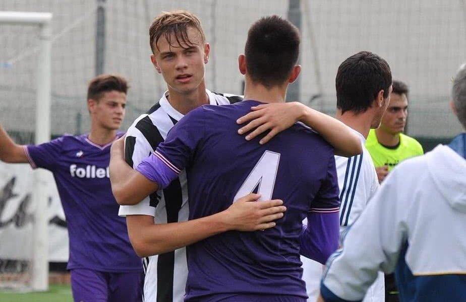 Boloca, în tricoul lui Juvetus, după un meci cu Fiorentina