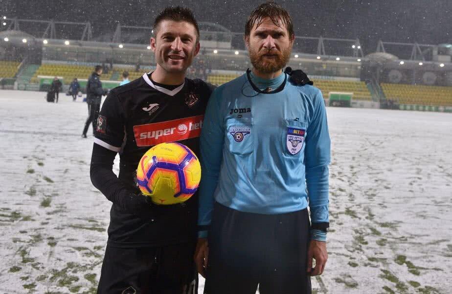 OAMENII MECIULUI. Chiajna - Iași (3-6) a fost o partidă istorică pentru Andrei Cristea și Alexandru Tudor. Atacantul ieșean a reușit golul 100 în Liga 1, iar