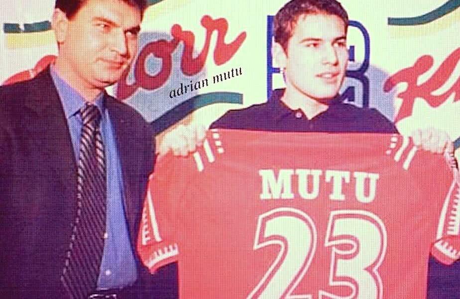Sub ochii lui Borcea, Mutu și-a luat în primire, la Dinamo, tricoul cu numărul 23