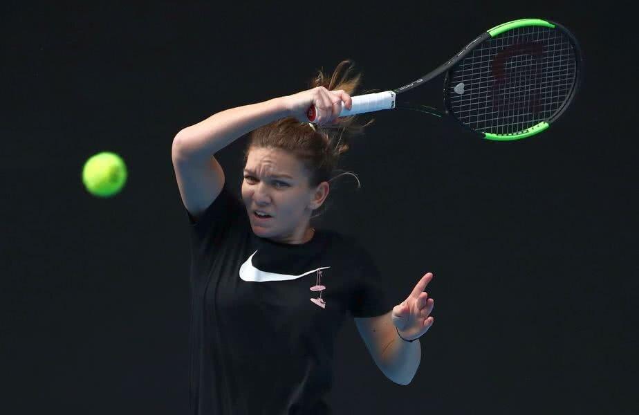 Simona Halep a început pregătirile pentru Australian Open / Foto: Guliver/GettyImages