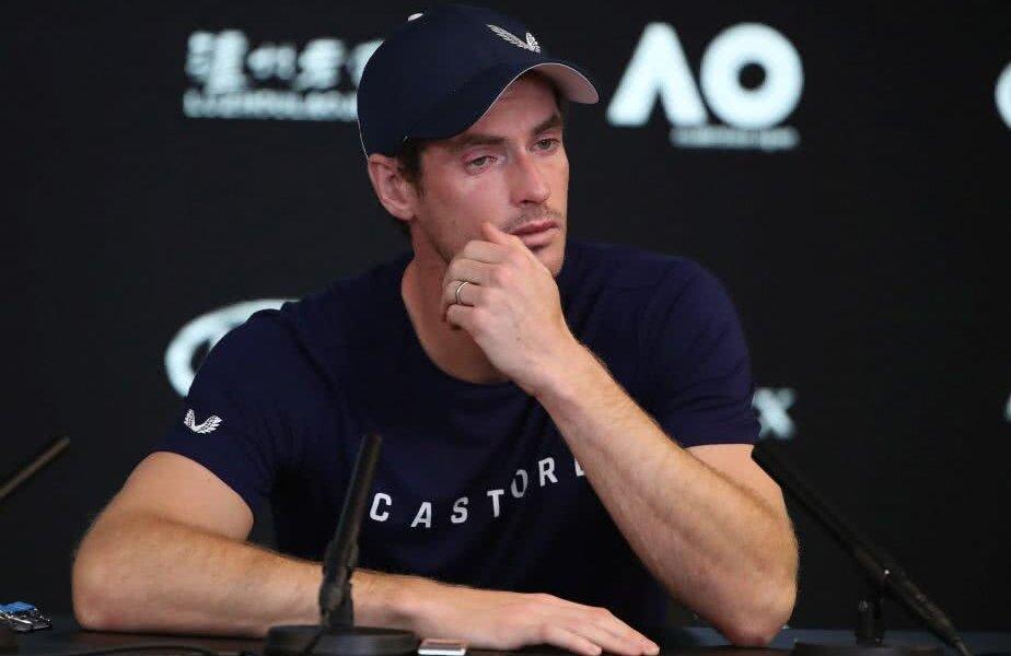 Andy Murray a izbucnit în plâns la conferința de presă în care și-a anunțat retragerea din tenis FOTO: Guliver/Getty Images