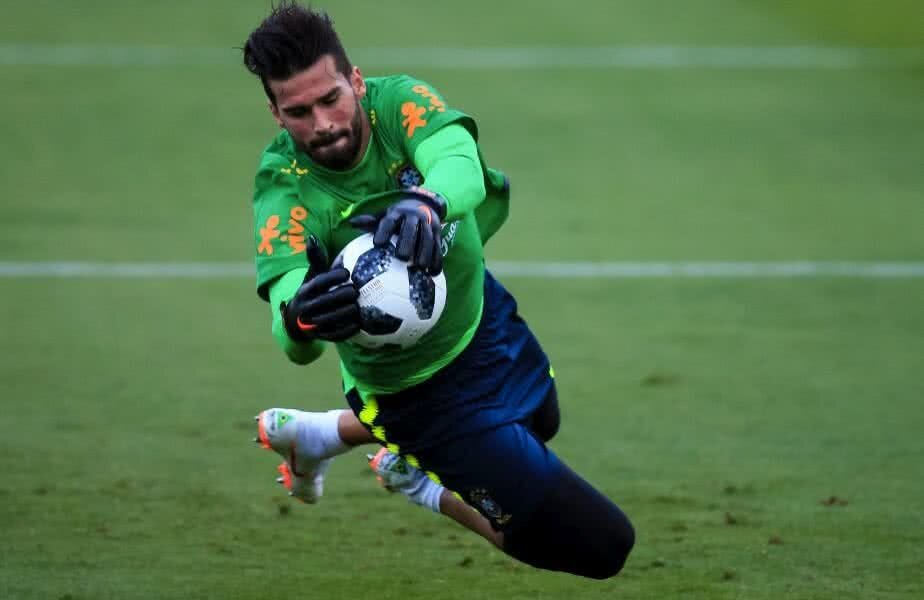 Alisson Becker este titular în naționala Braziliei