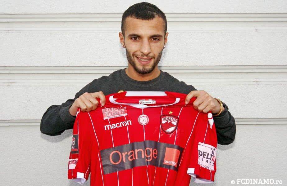 Jaadi s-a pozat cu tricoul lui Dinamo și va pleca în cantonament alături de noii colegi