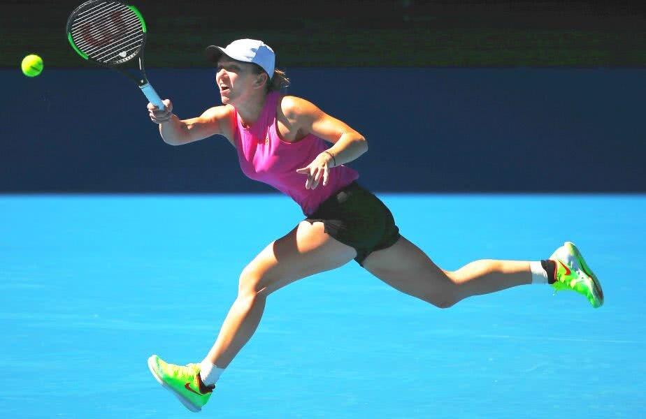 Simona Halep e gata de primul meci la Australian Open // FOTO: Guliver/GettyImages
