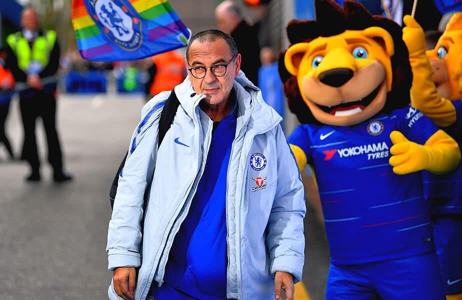 Maurizio Sarri o antrenează pe Chelsea din 2018 // FOTO: Guliver/Getty Images