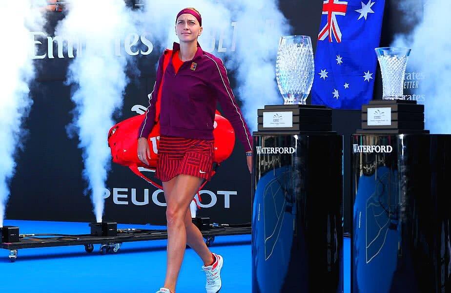 Petra Kvitova a câștigat azi al 26-lea titlu din carieră// FOTO: Guliver/Getty Images