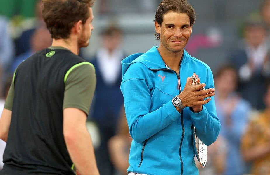 Rafael Nadal îl conduce pe Andy Murray cu 17-7 în raportul meciurilor directe // FOTO: Guliver/Getty Images