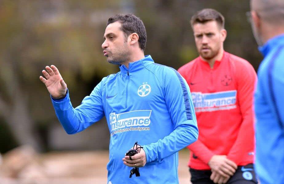 Mihai Teja la antrenamentele FCSB // Foto: Cristi Preda