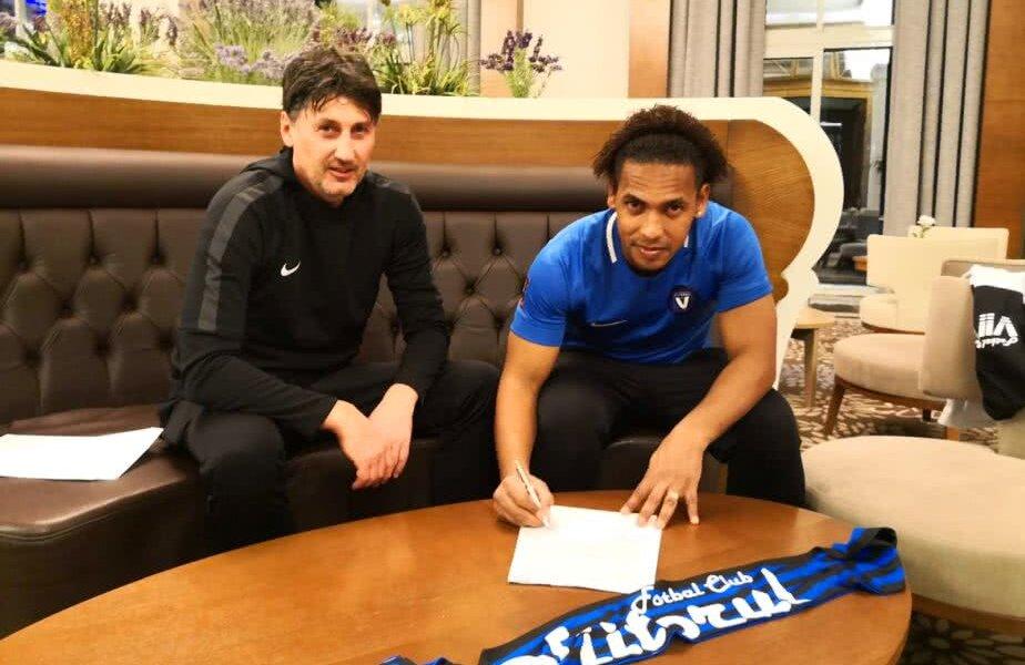 Eric de Oliveira a semnat un nou contract cu Viitorul