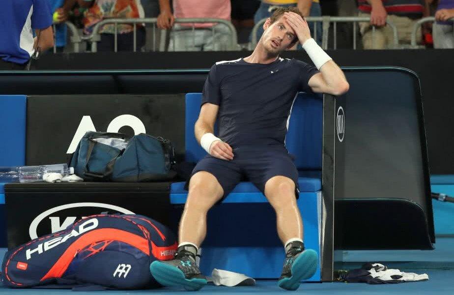 Andy Murray la finalul meciului de azi // Foto: Reuters