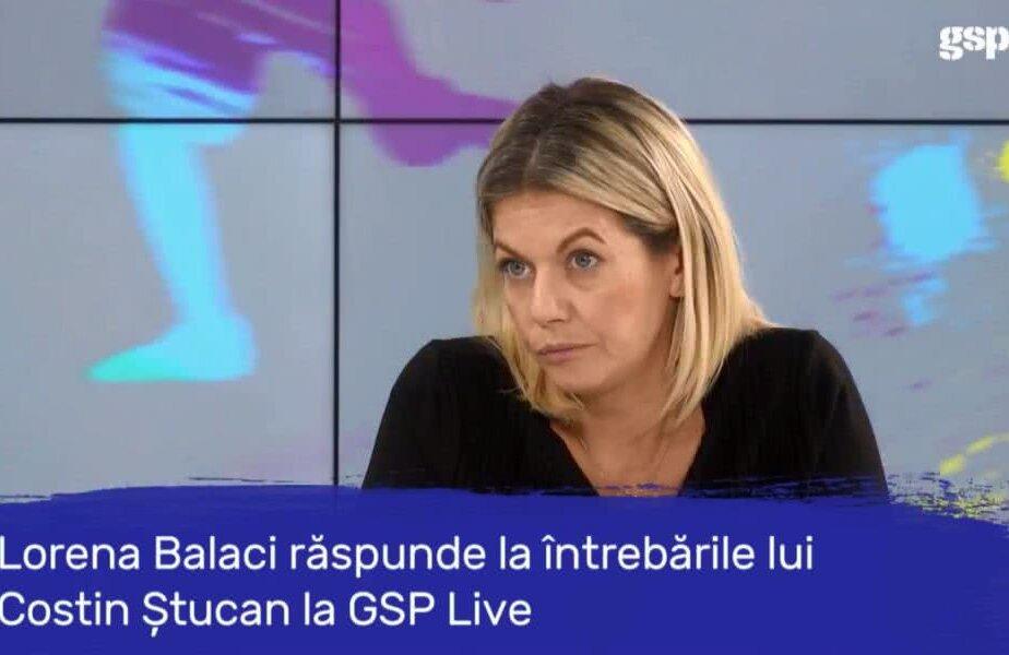 Lorena Balaci la GSP LIVE