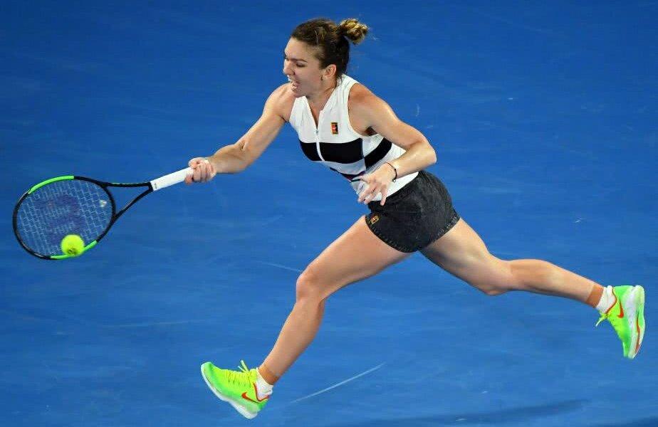Simona Halep a trecut de Sofia Kenin în turul 2 și acum o înfruntă live la Australian Open pe Venus Williams, foto: Guliver/gettyimages