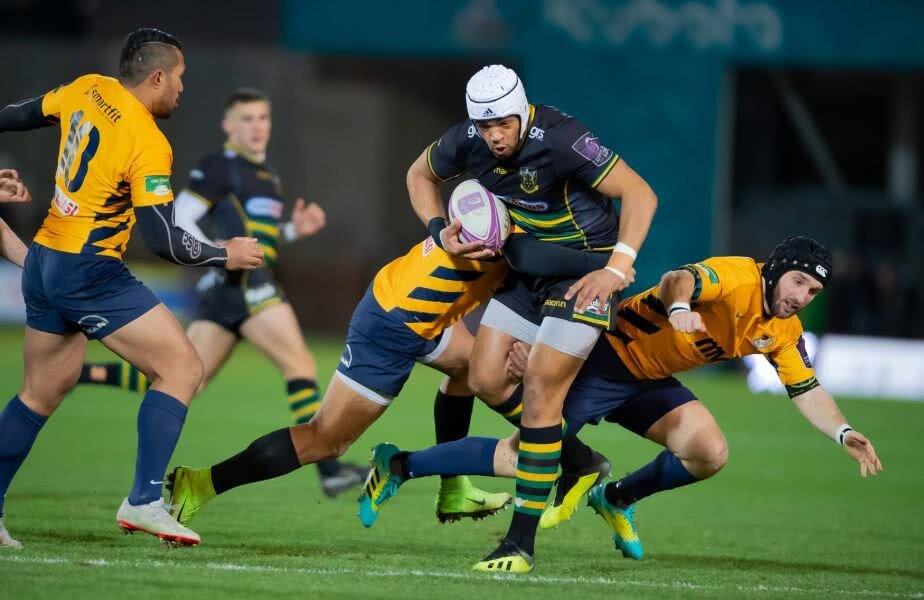 Echipa de rugby Timişoara Saracens a fost învinsă de Northampton Saints