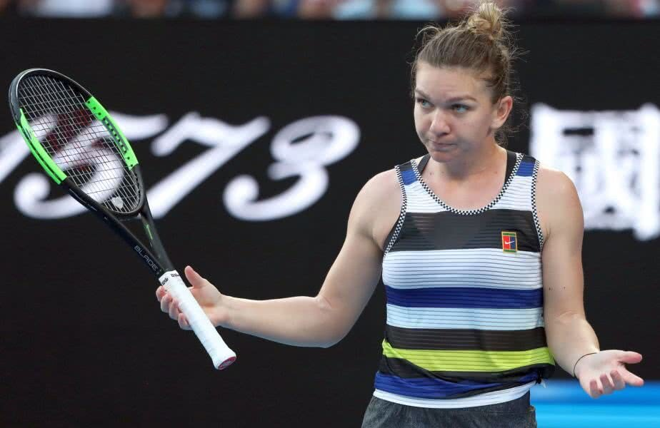 Simona Halep la Australian Open // FOTO: Reuter
